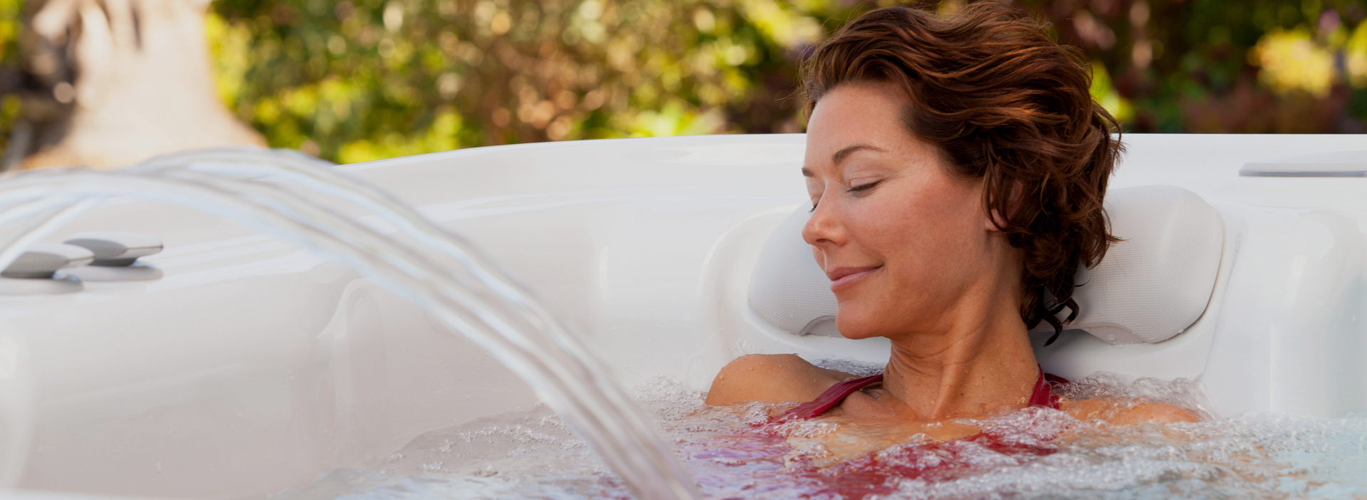 Woman Relaxing in Highlife Spa